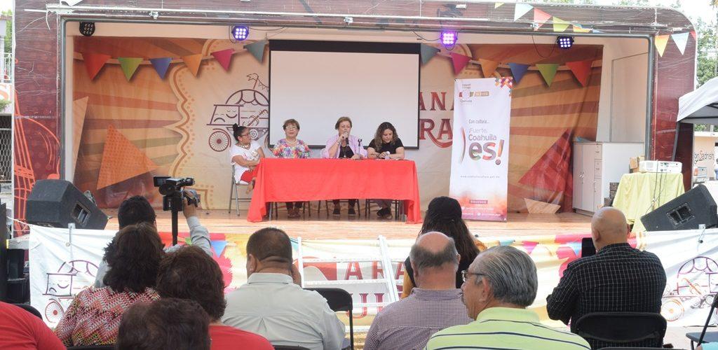 LLEGA CARAVANA CULTURAL A LA REGIÓN CARBONÍFERA DE COAHUILA