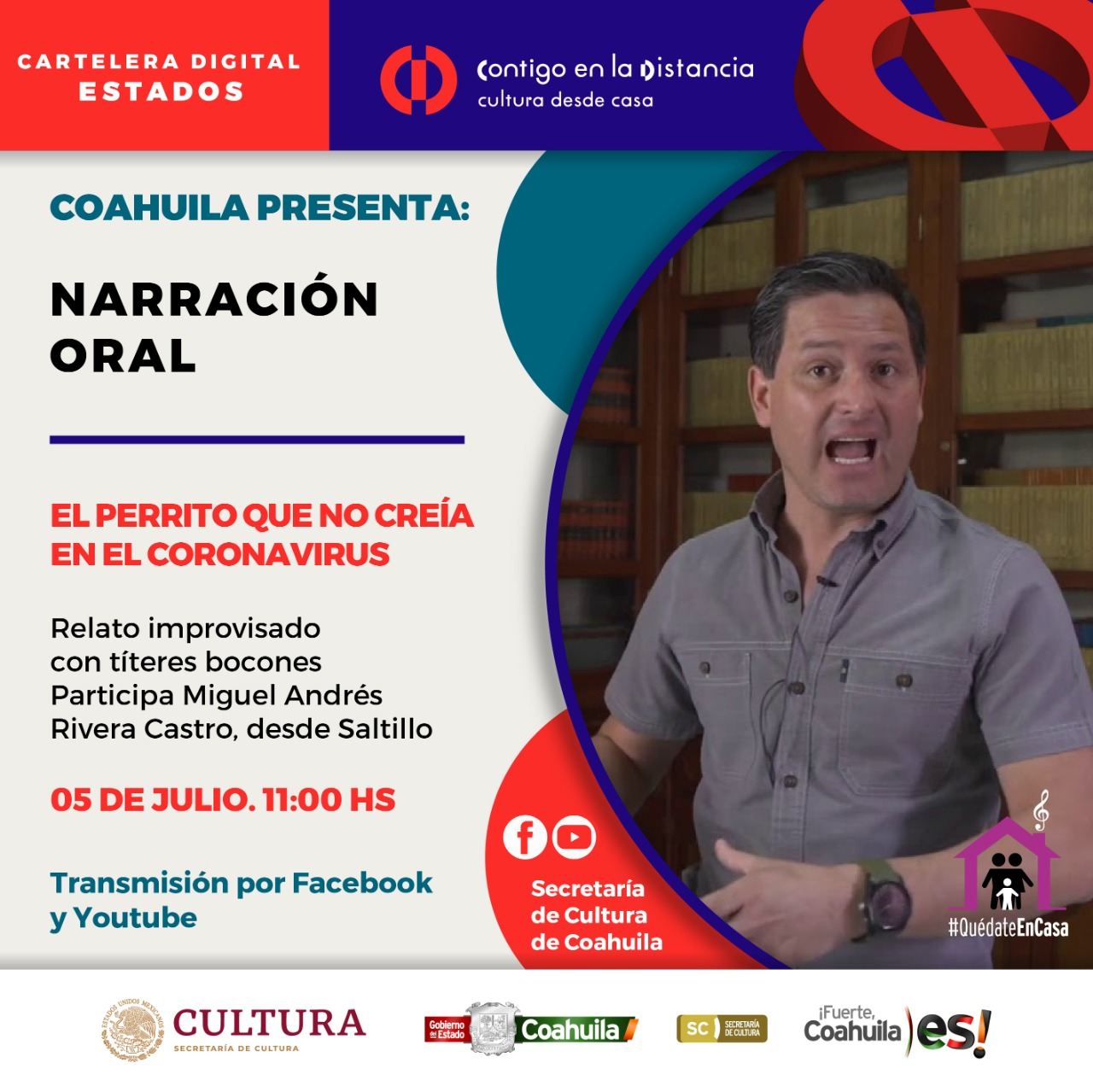 Coahuila presenta: Narración oral.