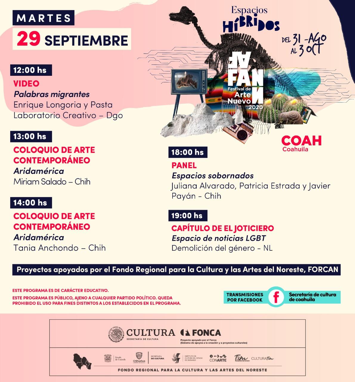 Festival de Arte Nuevo 2020