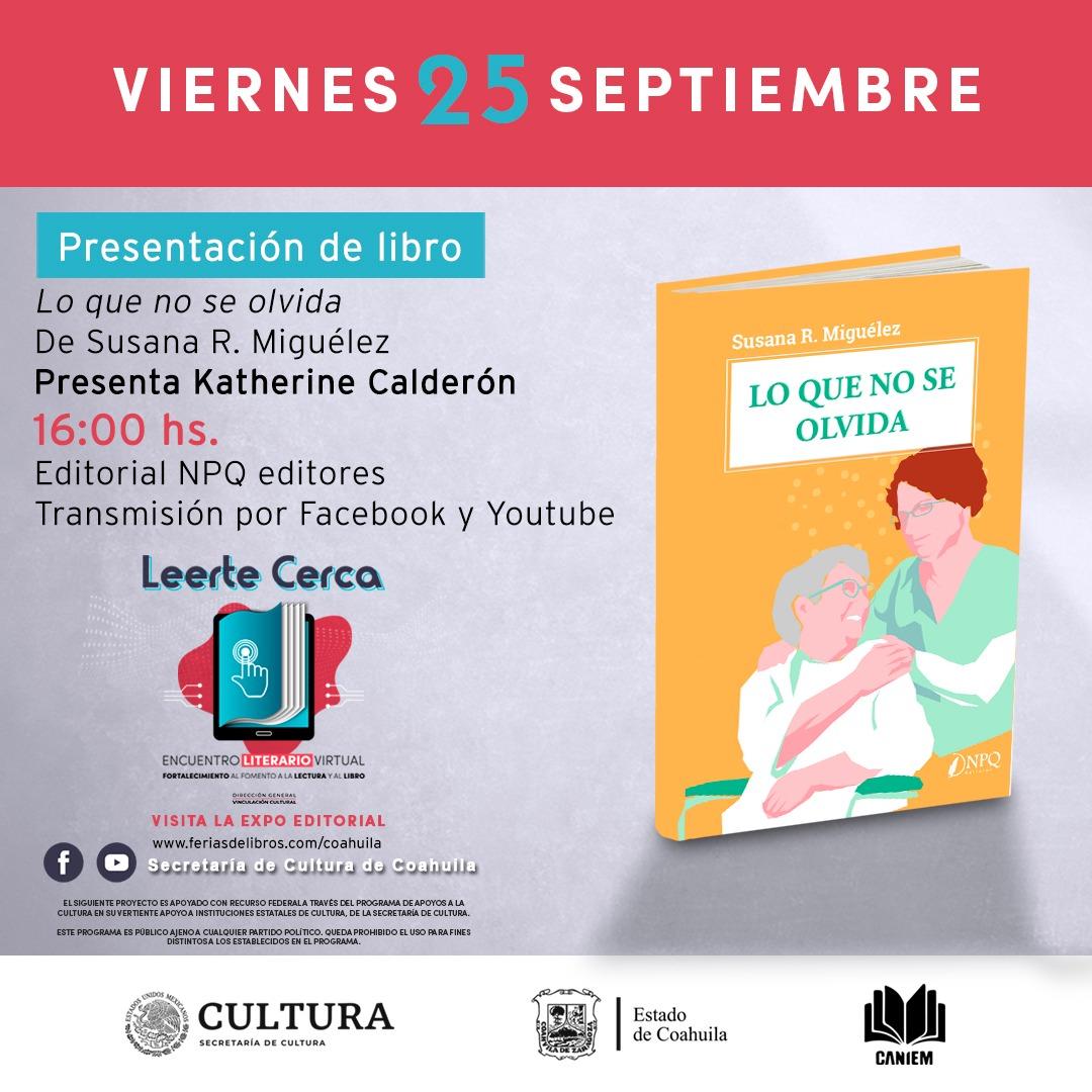 Leerte Cerca: Presentación de libro.