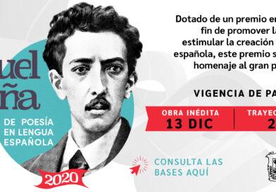 PREMIO INTERNACIONAL MANUEL ACUÑA DE POESÍA EN LENGUA ESPAÑOLA 2020