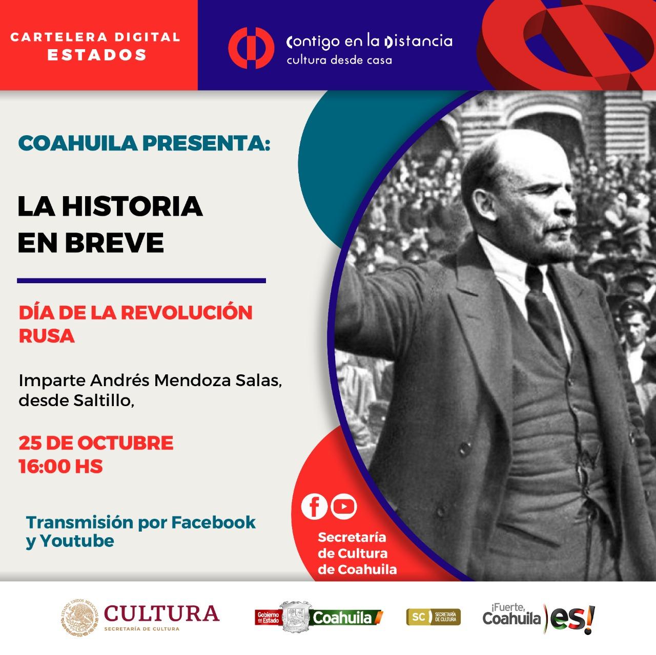 COAHUILA PRESENTA: LA HISTORIA EN BREVE