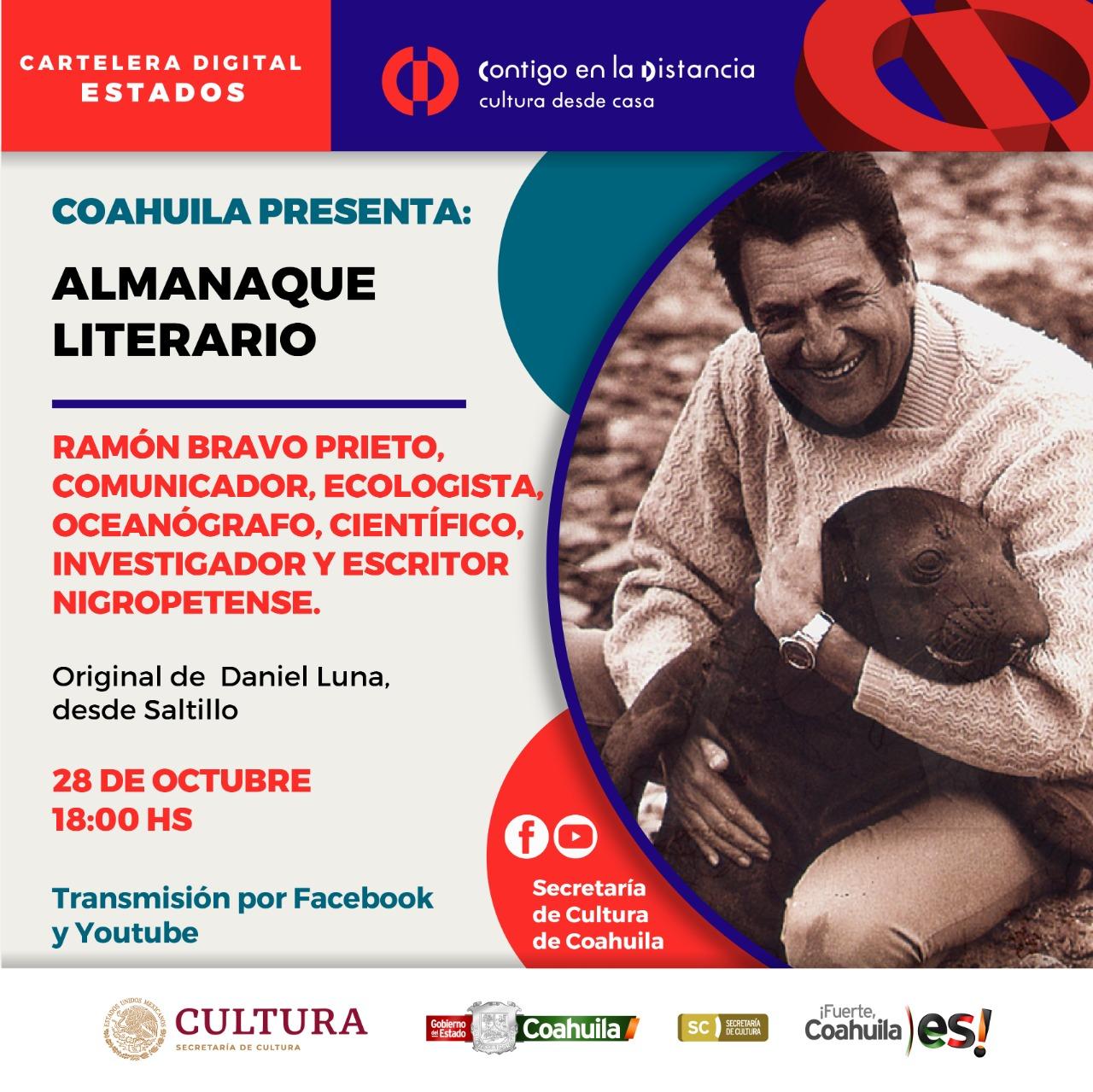 COAHUILA PRESENTA: ALMANAQUE LITERARIO
