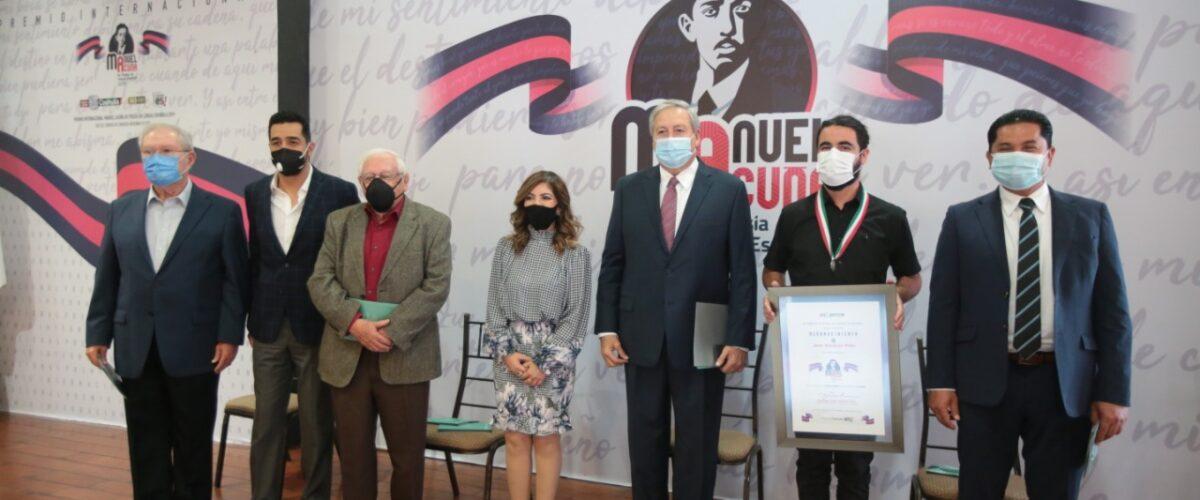 ENTREGA COAHUILA PREMIO INTERNACIONAL MANUEL ACUÑA DE POESÍA EN LENGUA ESPAÑOLA
