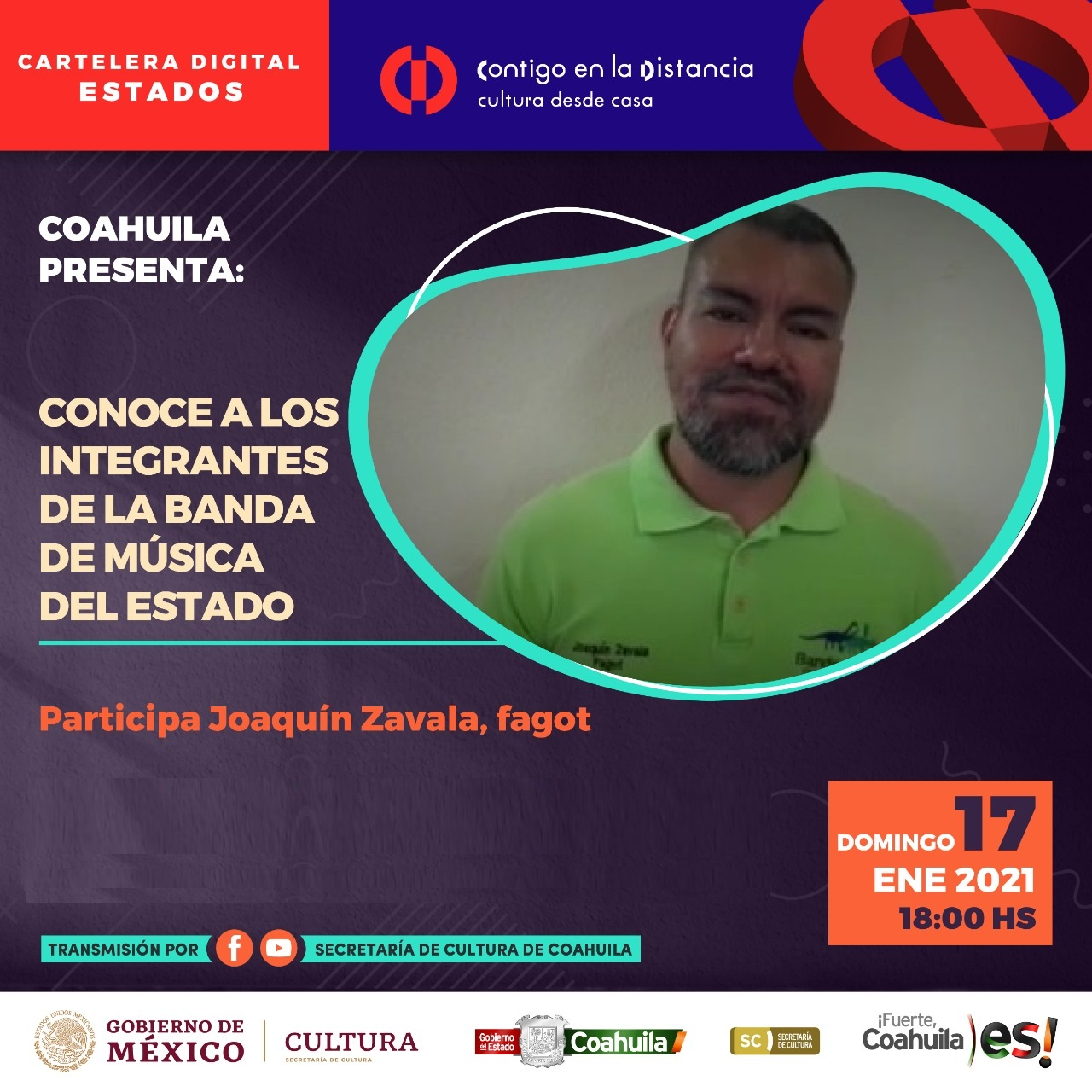 COAHUILA PRESENTA: CONOCE A LOS INTEGRANTES DE LA BANDA DE MÚSICA DEL ESTADO