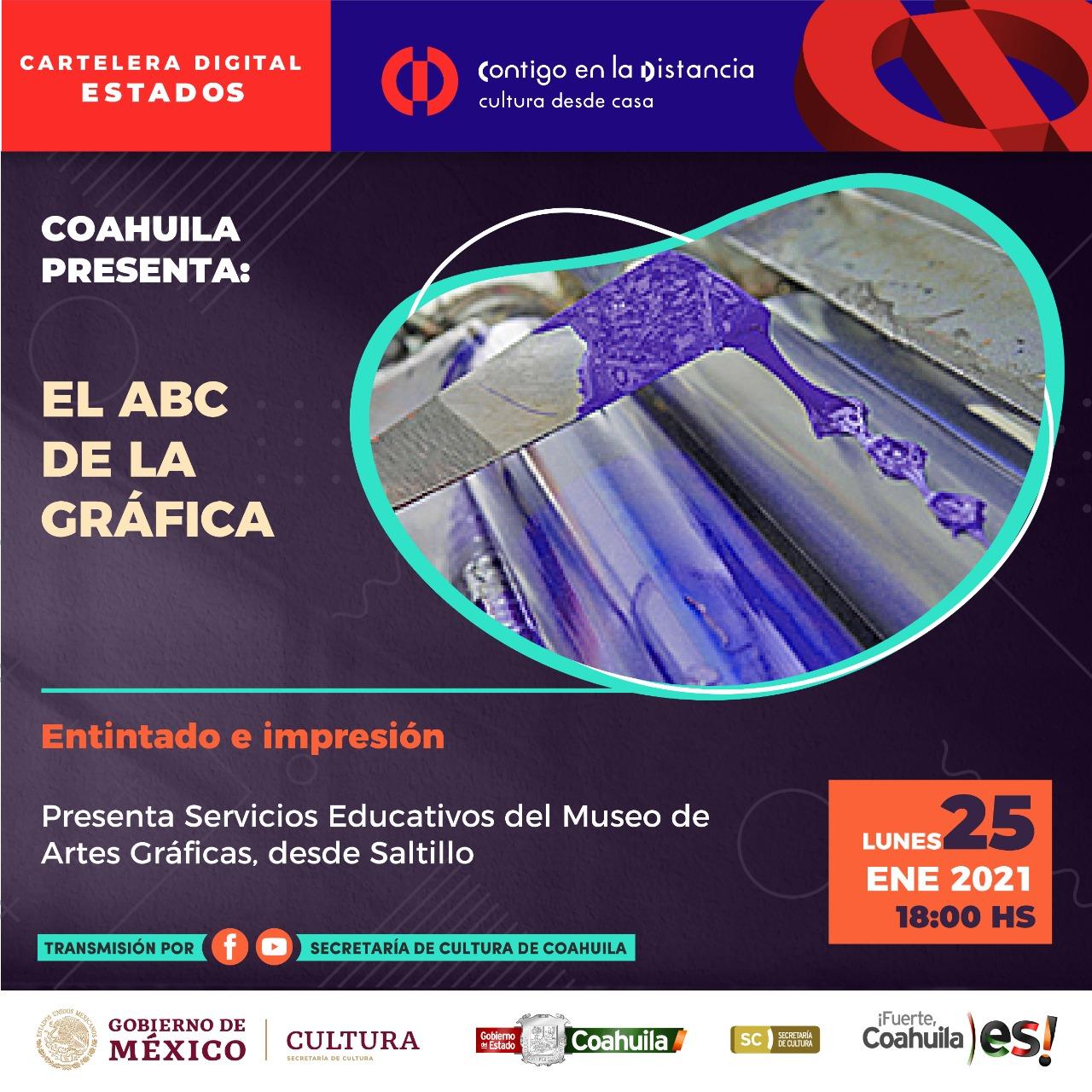 COAHUILA PRESENTA: EL ABC DE LA GRÁFICA
