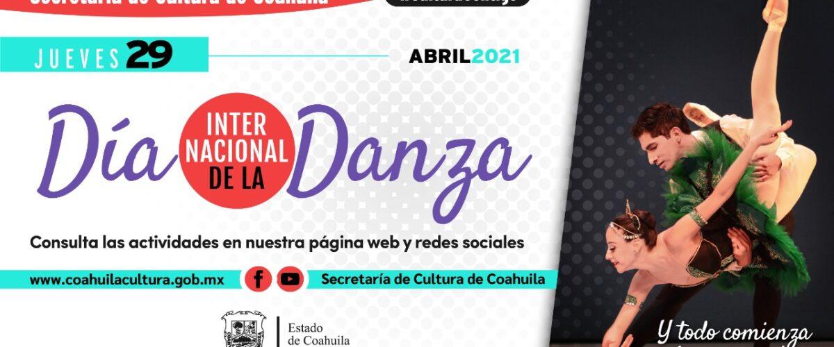 CELEBRA CULTURA COAHUILA EL DÍA DE LA DANZA