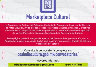 CONVOCATORIA ABIERTA MARKET PLACE CULTURAL